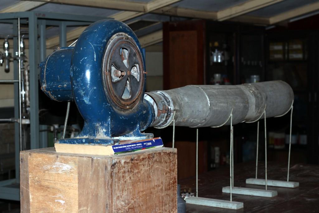 Winkelmann's Experimental Rig